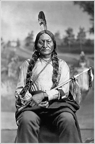 Portrait of Sitting Bull